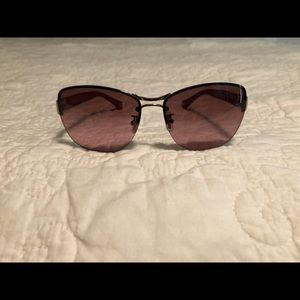 Coach sunglasses rose tint lenses